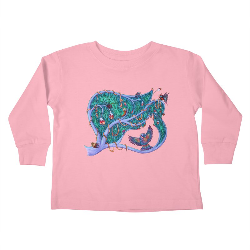 The Spirit of the Times Kids Toddler Longsleeve T-Shirt by WarduckDesign's Artist Shop