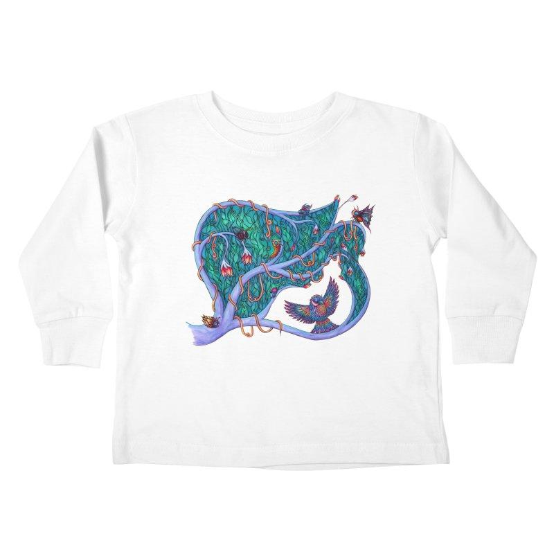 The Spirit of the Times Kids Toddler Longsleeve T-Shirt by WarduckDesign's Artist Shop