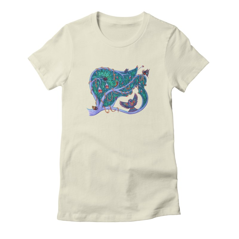 The Spirit of the Times Women's Fitted T-Shirt by WarduckDesign's Artist Shop