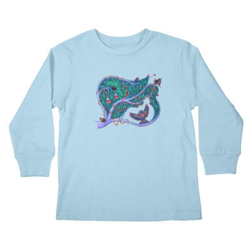 The Spirit of the Times Kids Longsleeve T-Shirt by WarduckDesign's Artist Shop