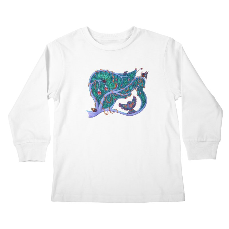 The Spirit of the Times Kids Longsleeve T-Shirt by WarduckDesign's Artist Shop