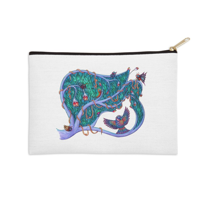 The Spirit of the Times Accessories Zip Pouch by WarduckDesign's Artist Shop