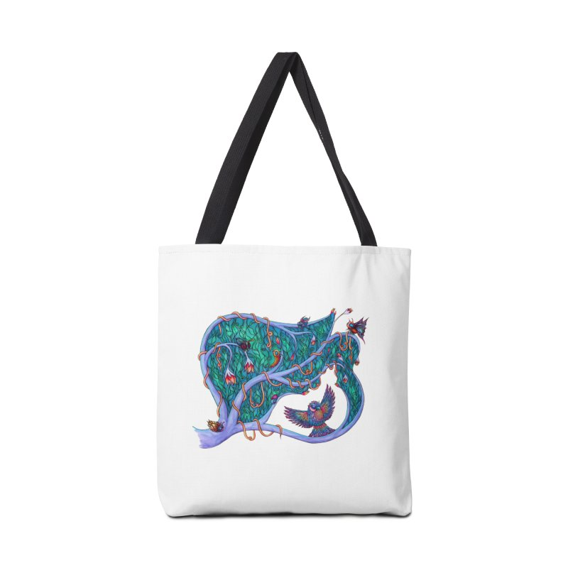 The Spirit of the Times Accessories Bag by WarduckDesign's Artist Shop