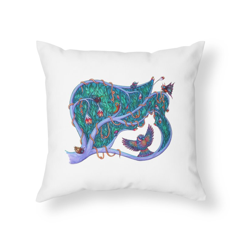 The Spirit of the Times Home Throw Pillow by WarduckDesign's Artist Shop