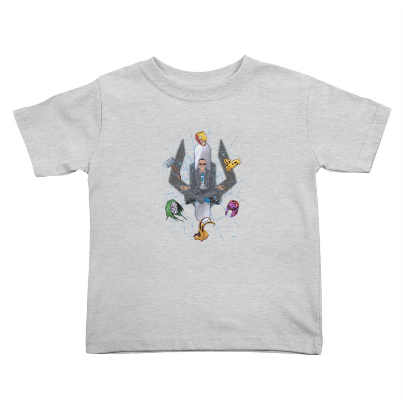 Stan The Man Kids Toddler T-Shirt by The Art of Warlick