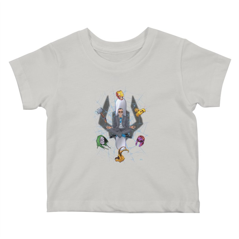 Stan The Man Kids Baby T-Shirt by The Art of Warlick