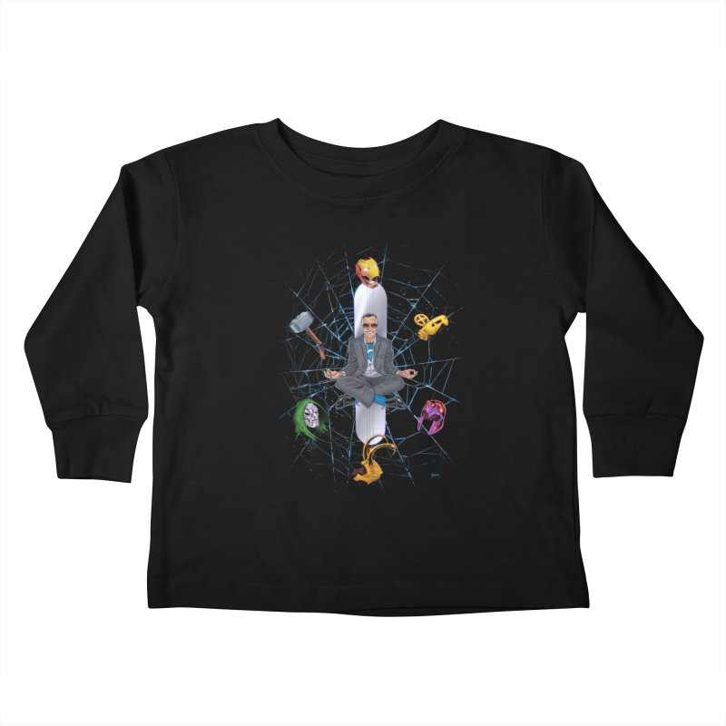 Stan The Man Kids Toddler Longsleeve T-Shirt by The Art of Warlick