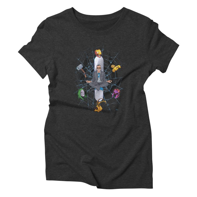 Stan The Man Women's Triblend T-Shirt by The Art of Warlick