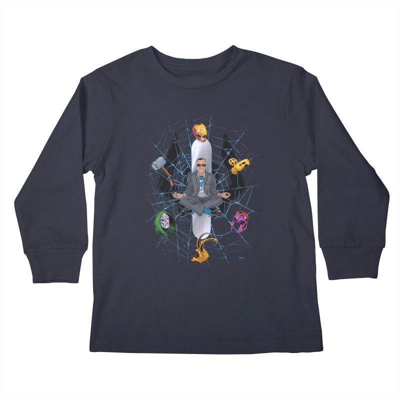 Stan The Man Kids Longsleeve T-Shirt by The Art of Warlick