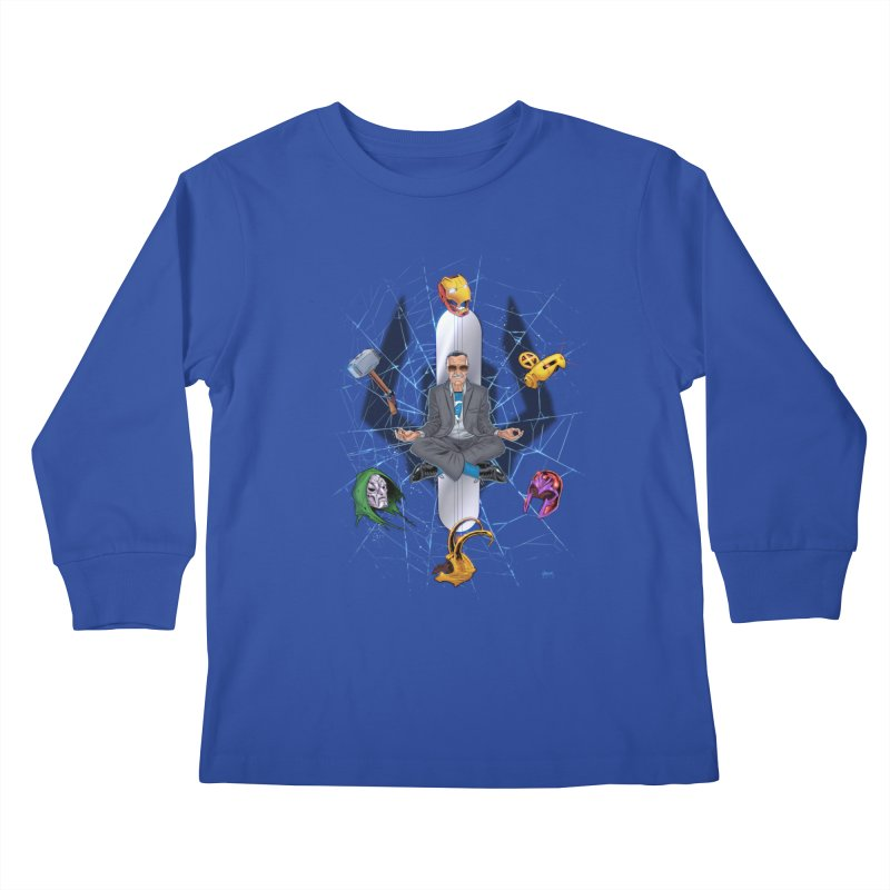 Stan The Man Kids Longsleeve T-Shirt by The Art of Warlick