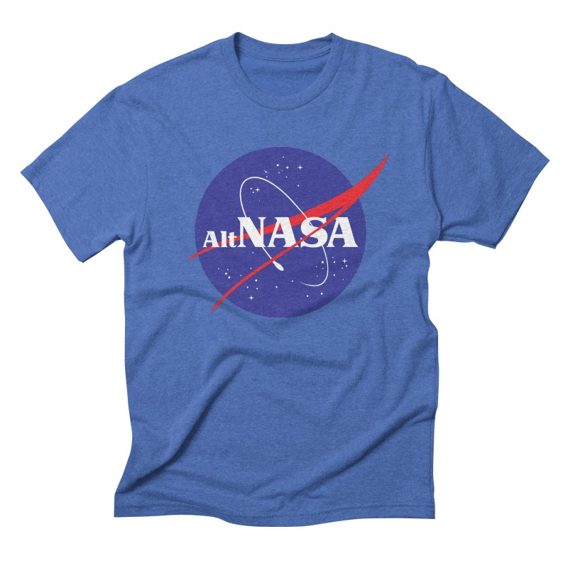 ALTNASA in Men's Triblend T-shirt Blue Triblend by The Art of Warlick