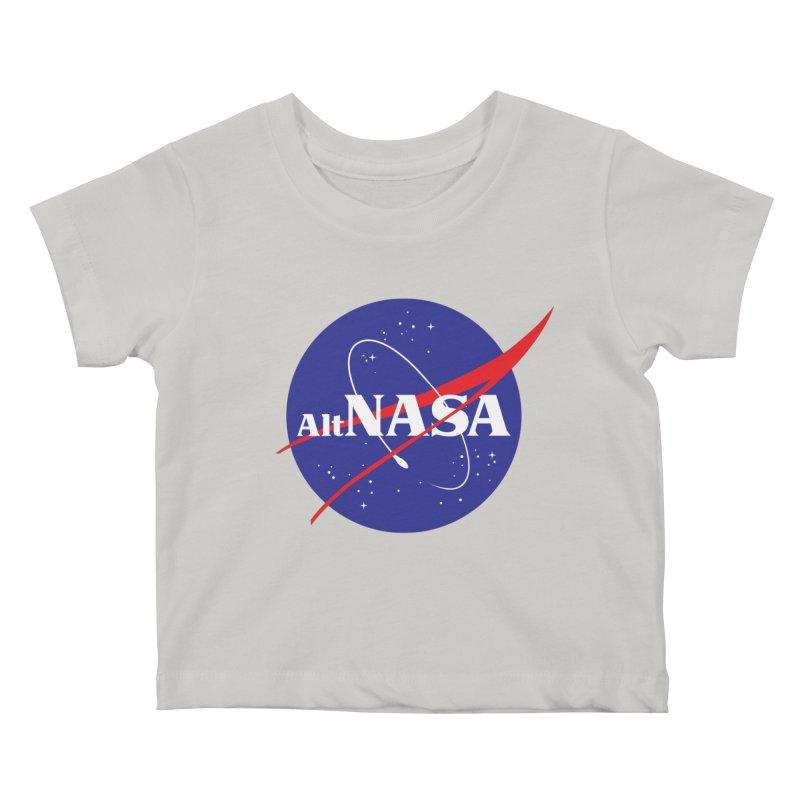 ALTNASA Kids Baby T-Shirt by The Art of Warlick