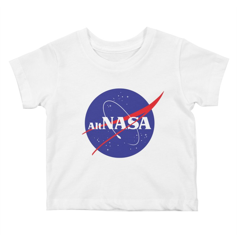 ALTNASA Kids Baby T-Shirt by The Art of Warlick