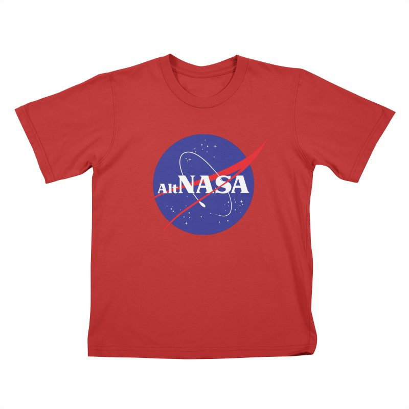 ALTNASA Kids T-Shirt by The Art of Warlick