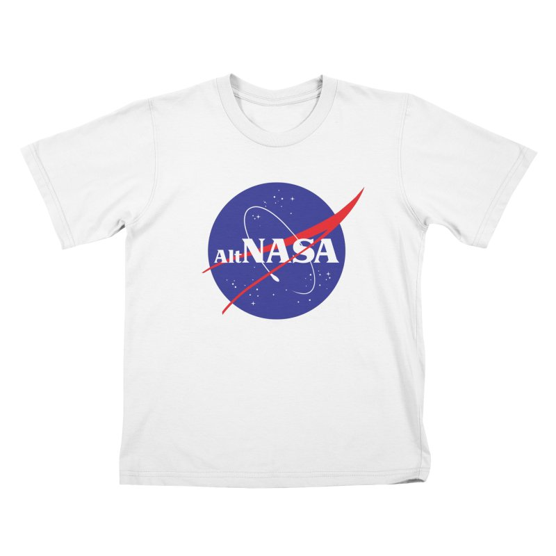 ALTNASA Kids T-Shirt by The Art of Warlick