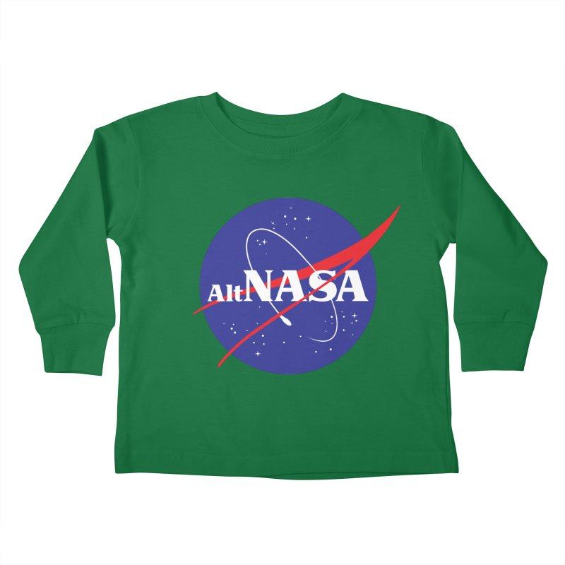 ALTNASA Kids Toddler Longsleeve T-Shirt by The Art of Warlick