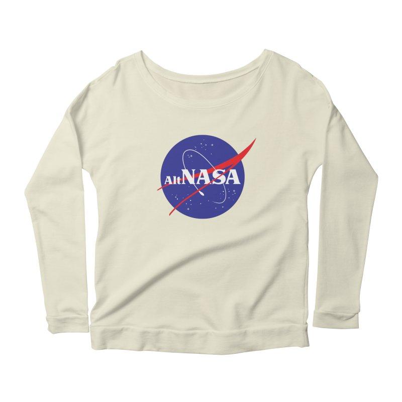 ALTNASA Women's Scoop Neck Longsleeve T-Shirt by The Art of Warlick
