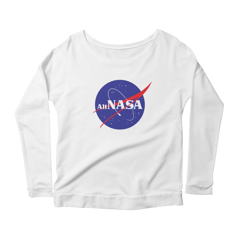 ALTNASA Women's Longsleeve Scoopneck  by The Art of Warlick