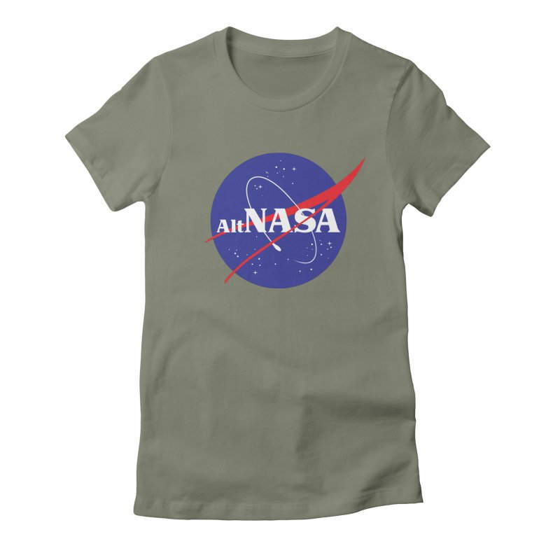 ALTNASA Women's Fitted T-Shirt by The Art of Warlick