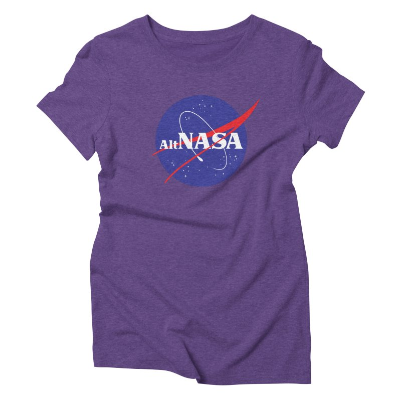 ALTNASA Women's Triblend T-shirt by The Art of Warlick