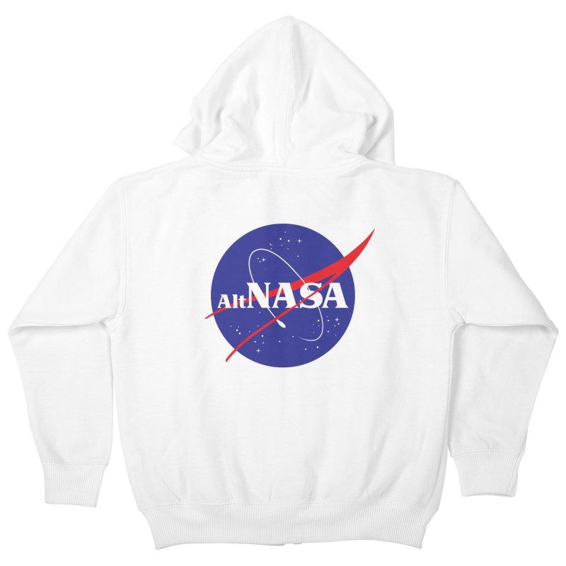 ALTNASA Kids Zip-Up Hoody by The Art of Warlick