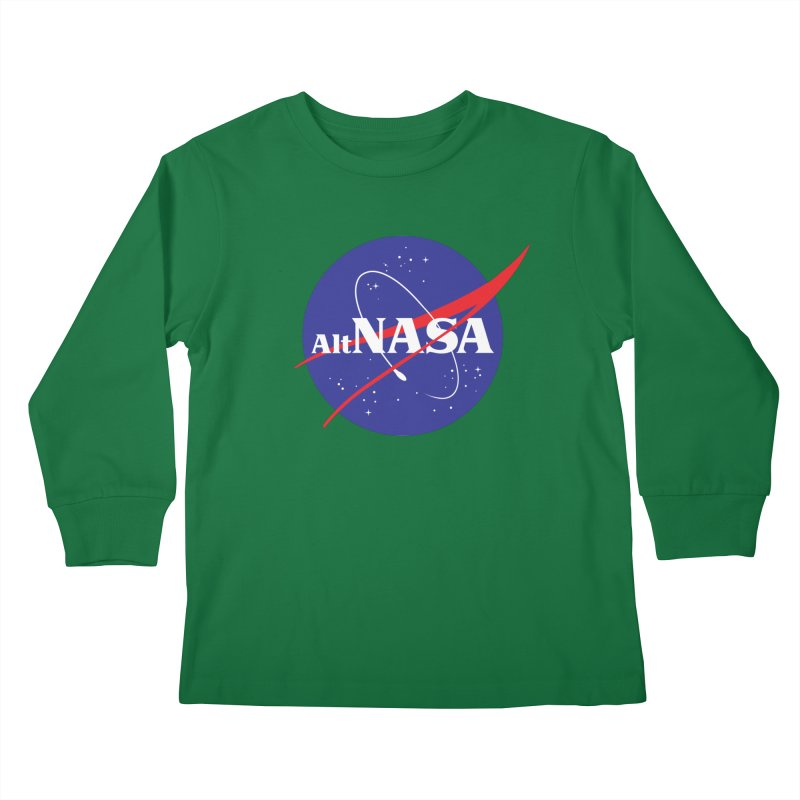 ALTNASA Kids Longsleeve T-Shirt by The Art of Warlick