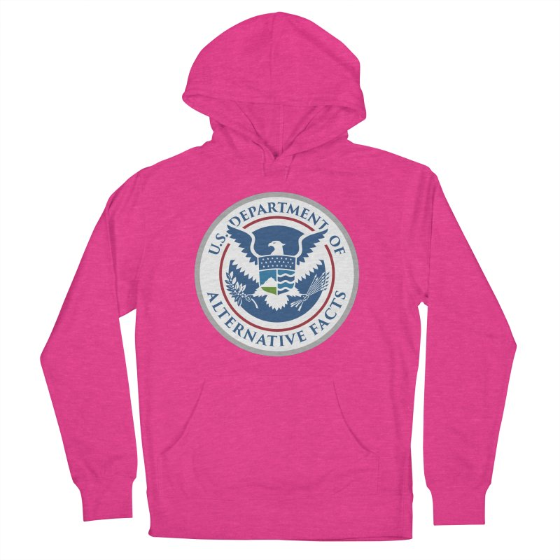 U.S. Department Of Alternative Facts Men's Pullover Hoody by The Art of Warlick