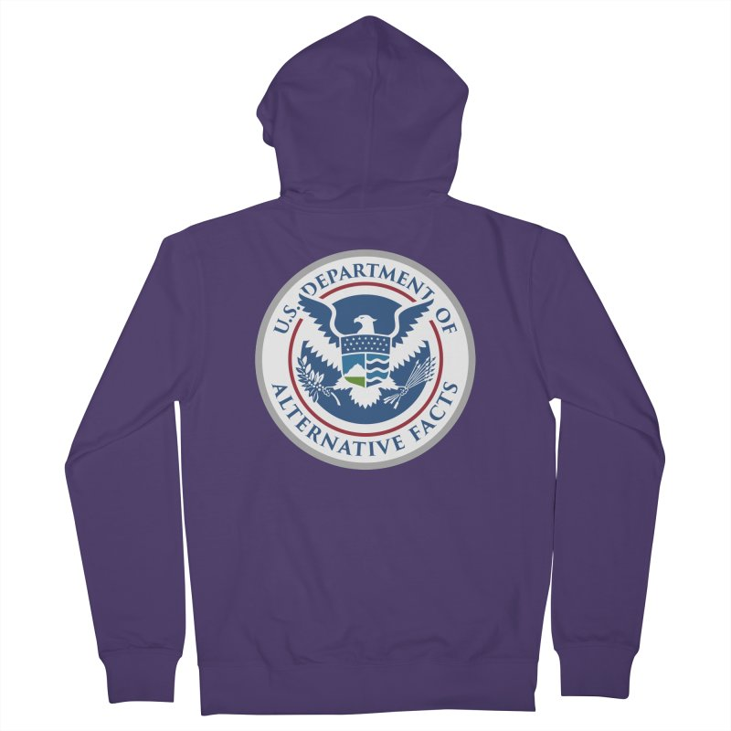 U.S. Department Of Alternative Facts Women's French Terry Zip-Up Hoody by The Art of Warlick
