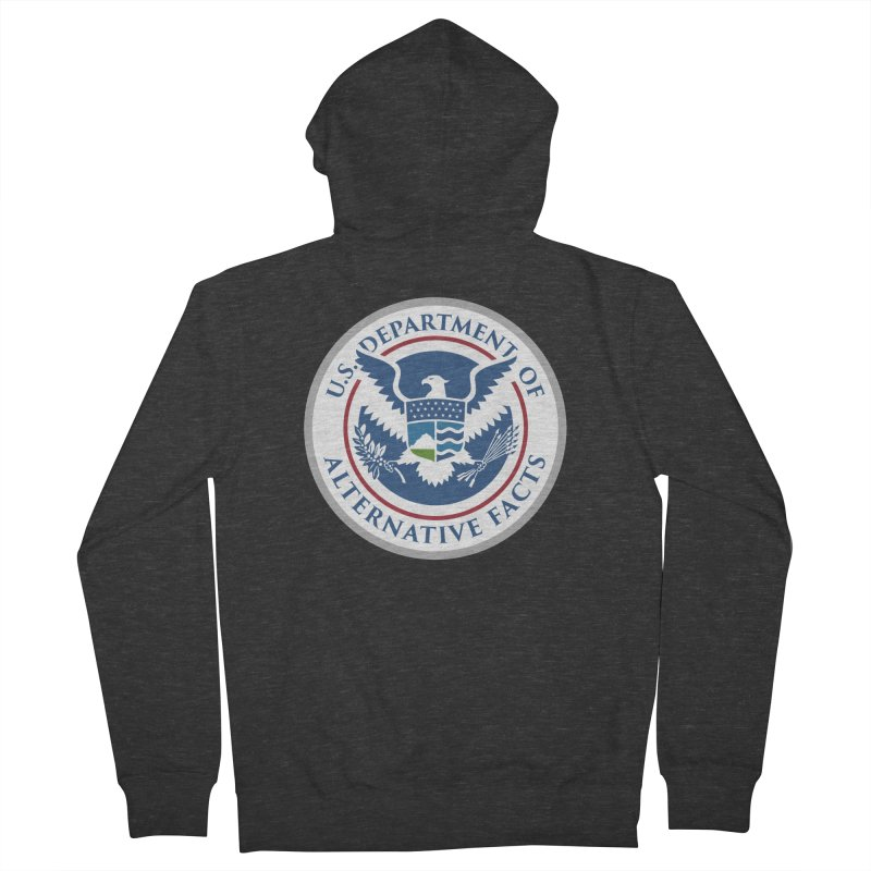 U.S. Department Of Alternative Facts Men's French Terry Zip-Up Hoody by The Art of Warlick