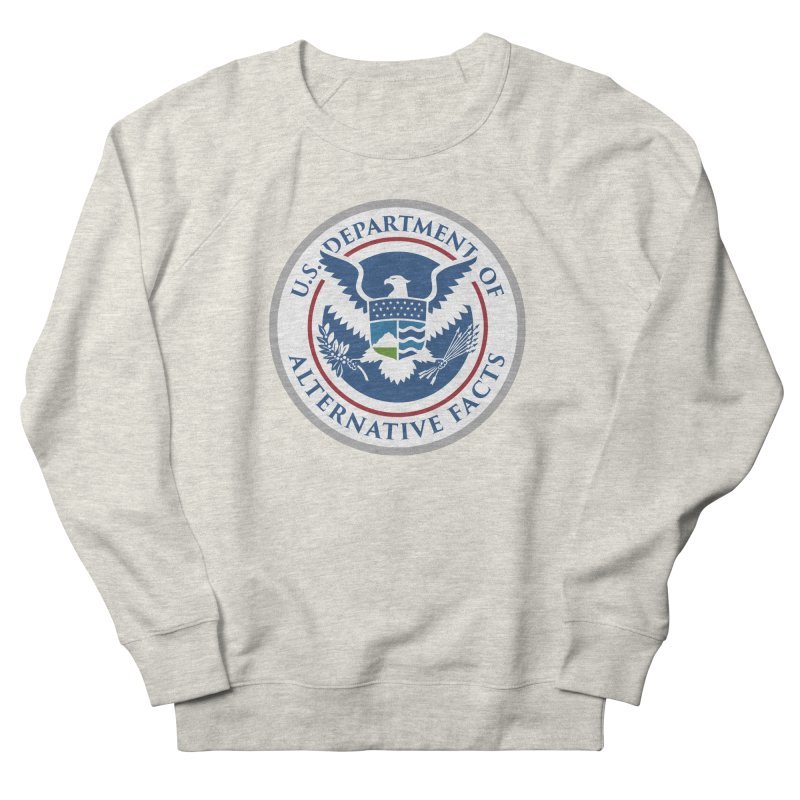 U.S. Department Of Alternative Facts Men's French Terry Sweatshirt by The Art of Warlick