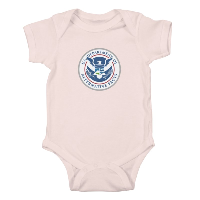 U.S. Department Of Alternative Facts Kids Baby Bodysuit by The Art of Warlick