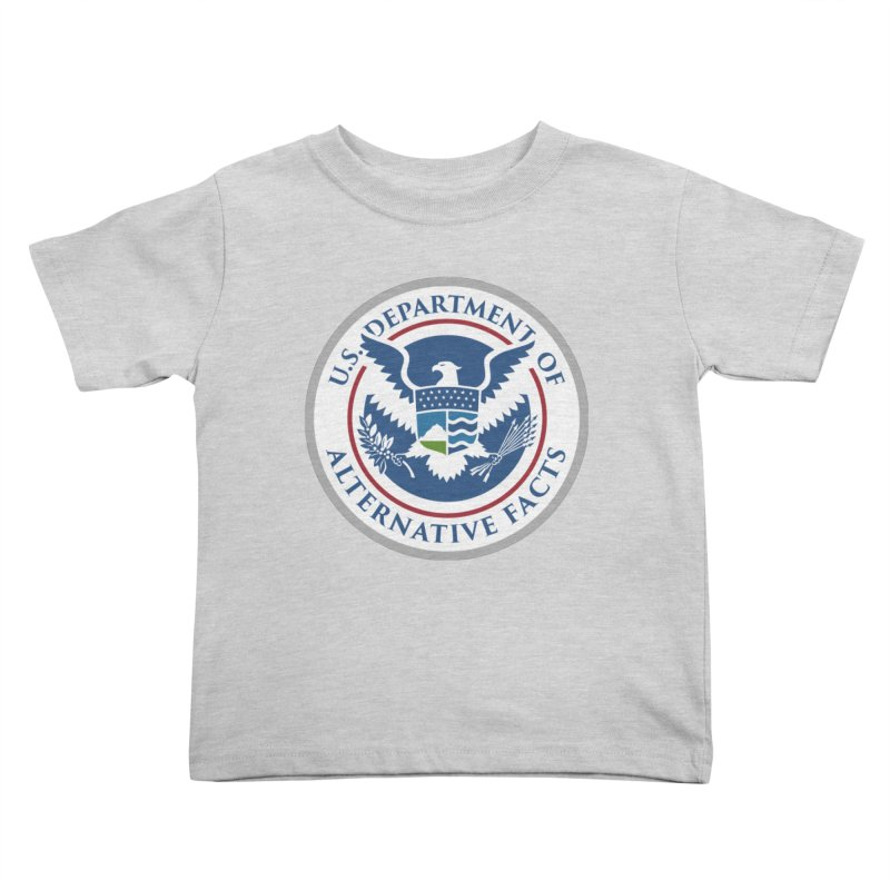 U.S. Department Of Alternative Facts Kids Toddler T-Shirt by The Art of Warlick