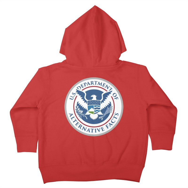 U.S. Department Of Alternative Facts Kids Toddler Zip-Up Hoody by The Art of Warlick