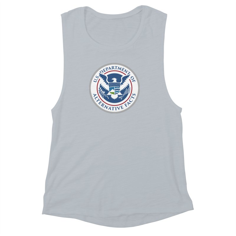 U.S. Department Of Alternative Facts Women's Muscle Tank by The Art of Warlick