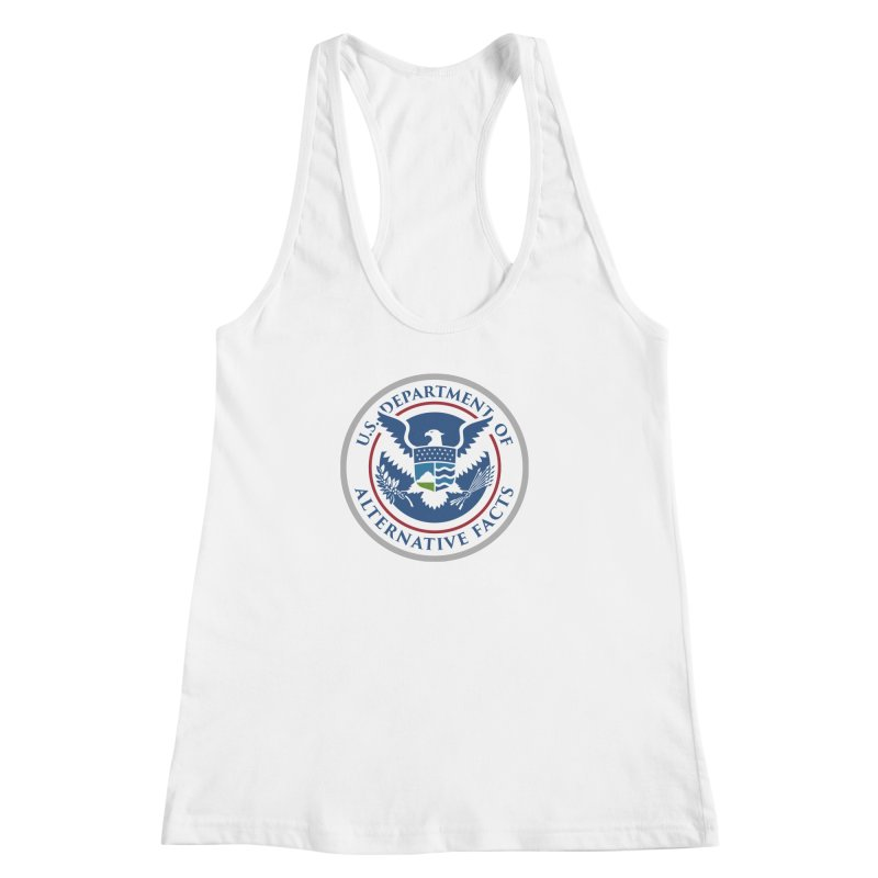 U.S. Department Of Alternative Facts Women's Racerback Tank by The Art of Warlick
