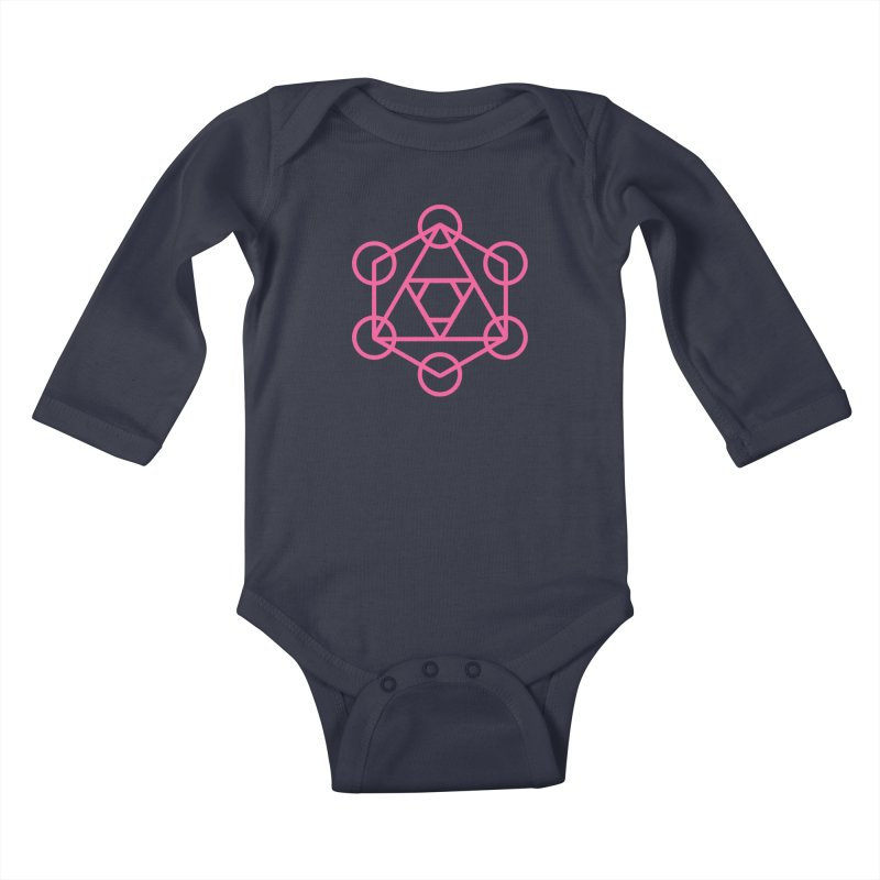The Art of Warlick Kids Baby Longsleeve Bodysuit by The Art of Warlick