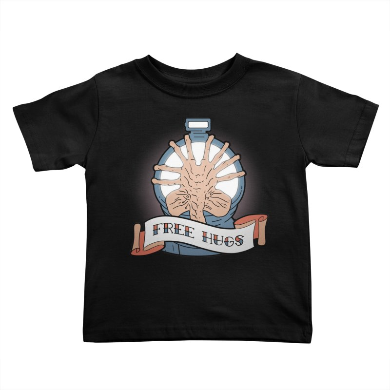 Free Hugs Kids Toddler T-Shirt by The Art of Warlick