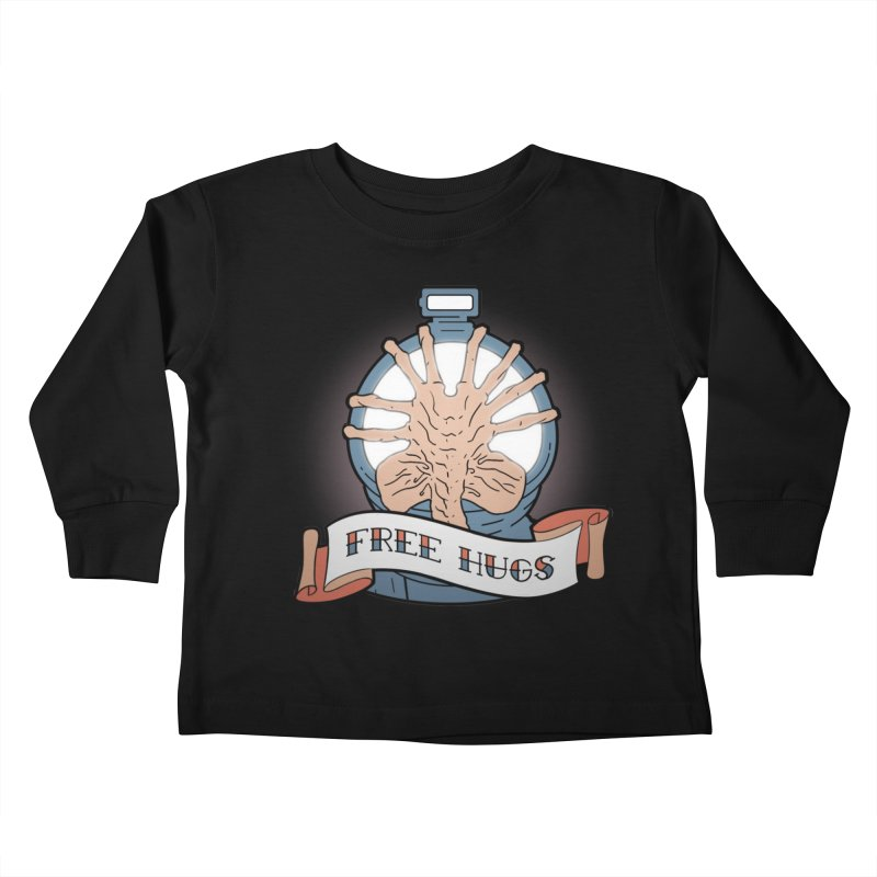 Free Hugs Kids Toddler Longsleeve T-Shirt by The Art of Warlick