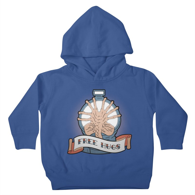 Free Hugs Kids Toddler Pullover Hoody by The Art of Warlick