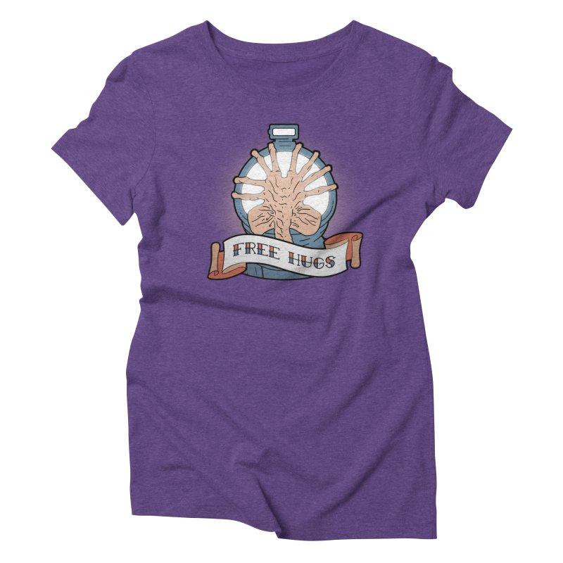 Free Hugs Women's Triblend T-shirt by The Art of Warlick