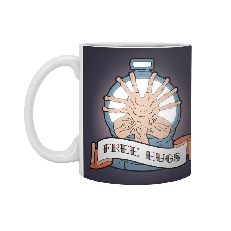 Free Hugs Accessories Mug by The Art of Warlick