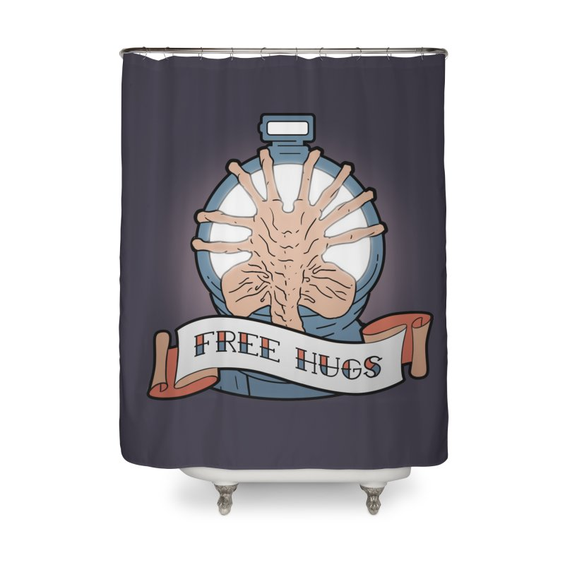 Free Hugs Home Shower Curtain by The Art of Warlick
