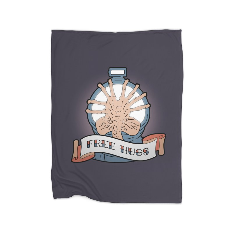 Free Hugs Home Blanket by The Art of Warlick
