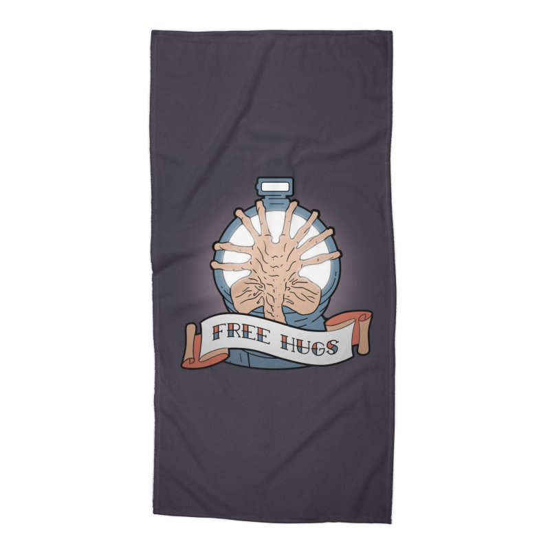 Free Hugs Accessories Beach Towel by The Art of Warlick