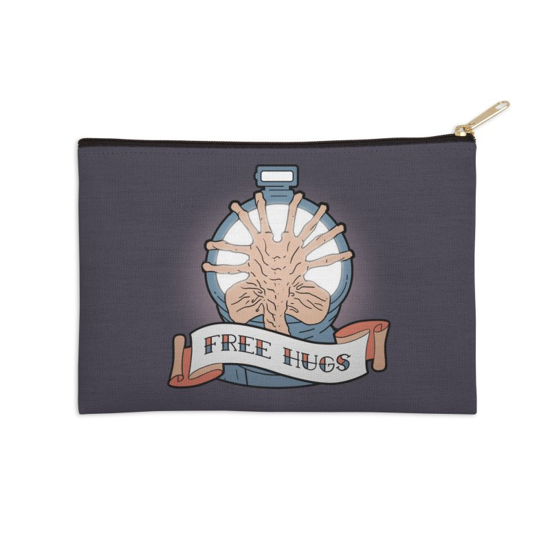 Free Hugs Accessories Zip Pouch by The Art of Warlick