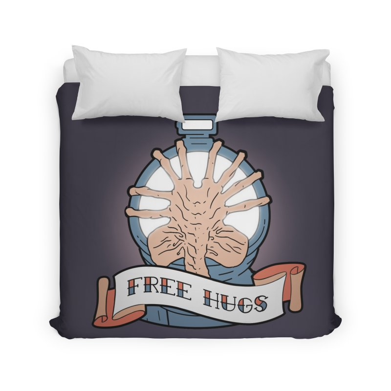 Free Hugs Home Duvet by The Art of Warlick