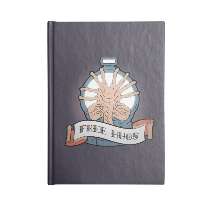 Free Hugs Accessories Notebook by The Art of Warlick
