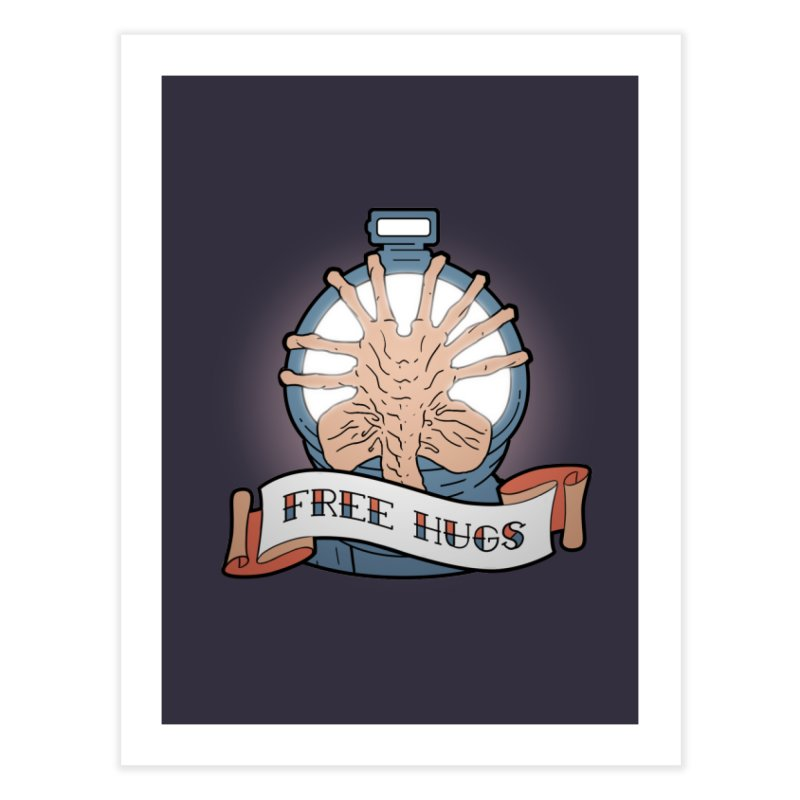 Free Hugs Home Fine Art Print by The Art of Warlick