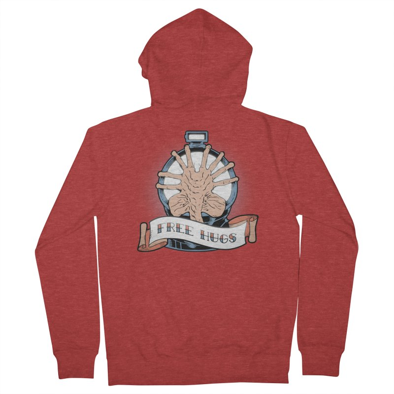 Free Hugs Men's Zip-Up Hoody by The Art of Warlick