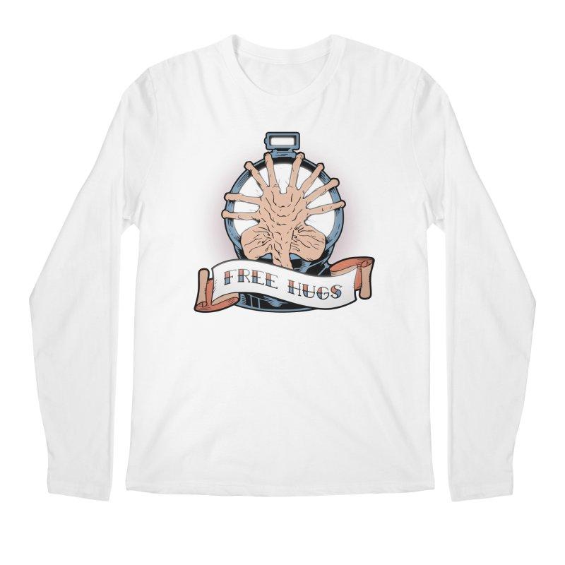 Free Hugs Men's Regular Longsleeve T-Shirt by The Art of Warlick